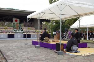 千鳥ヶ淵戦没者追悼慰霊式典 2013.04.06 no3