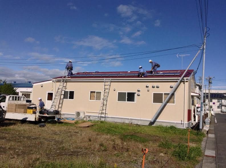 太陽光発電施工