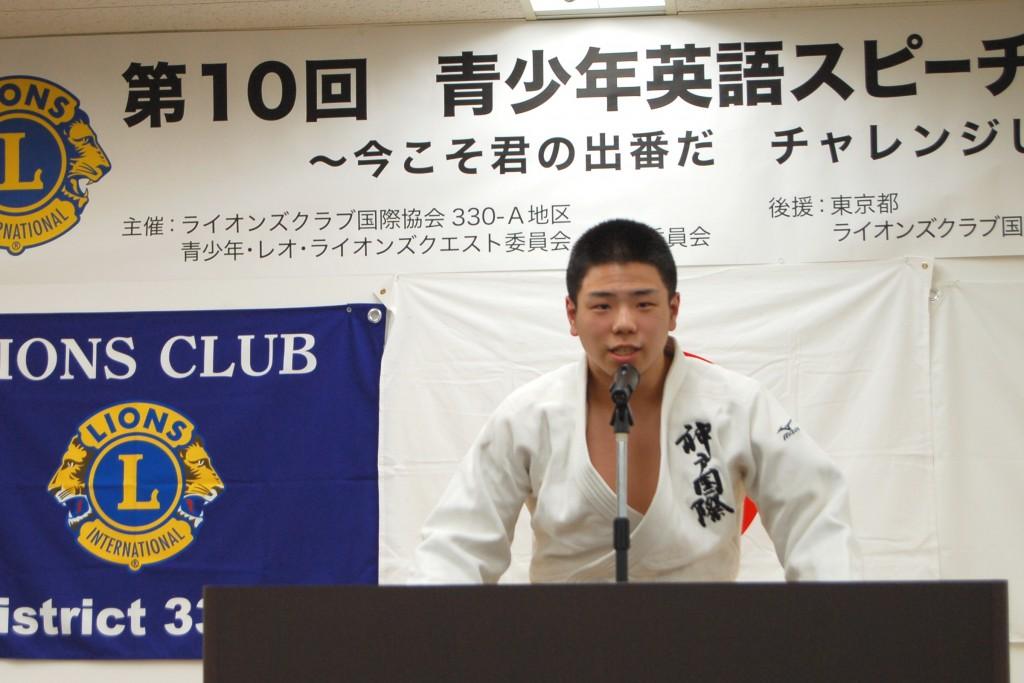 青少年英語スピーチコンテスト no10