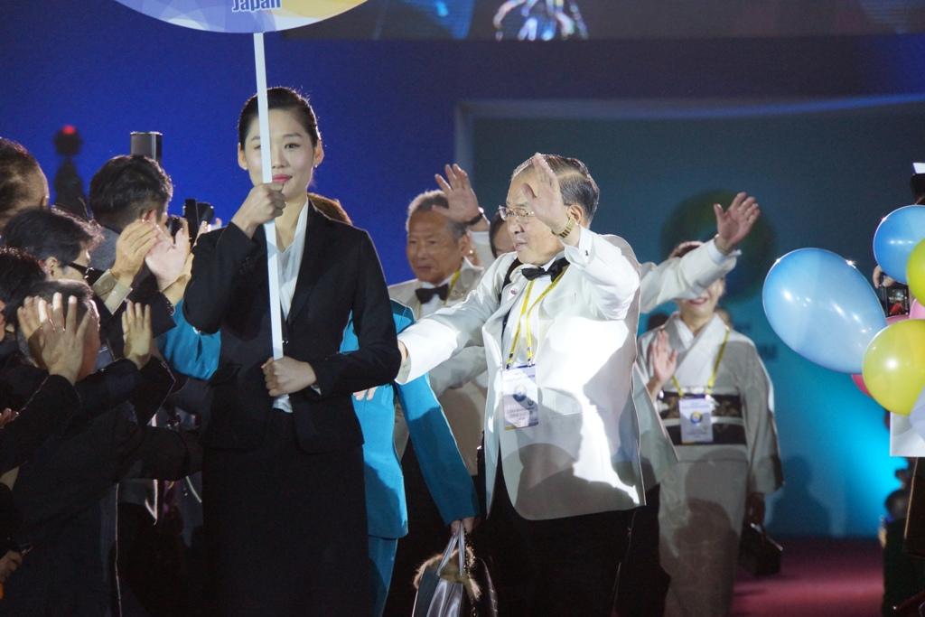 仁川OSEAL開会式 2014.11.14 NO5
