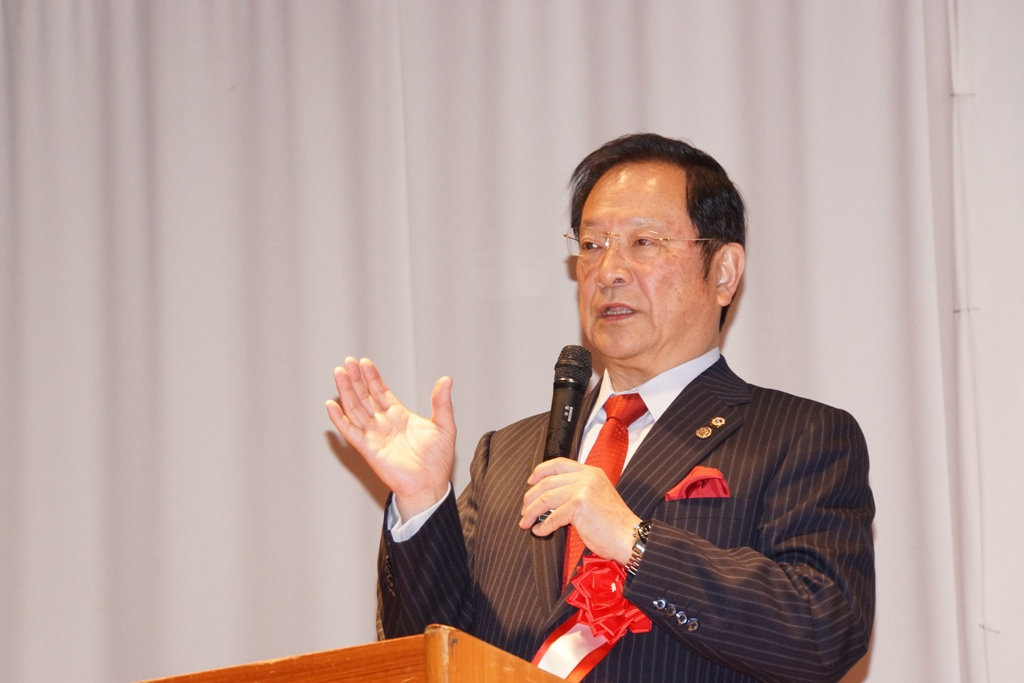 山田副国際会長基調演説3