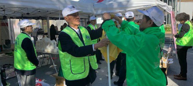 11月19日調布駅前で献血奉仕活動~100名以上のご協力ありがとうございました。 東京調布LC