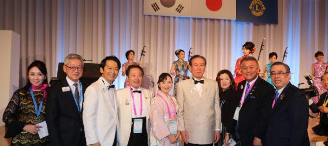 第58回東洋・東南アジア ライオンズフォーラム開会式 11月7~10日 広島市内