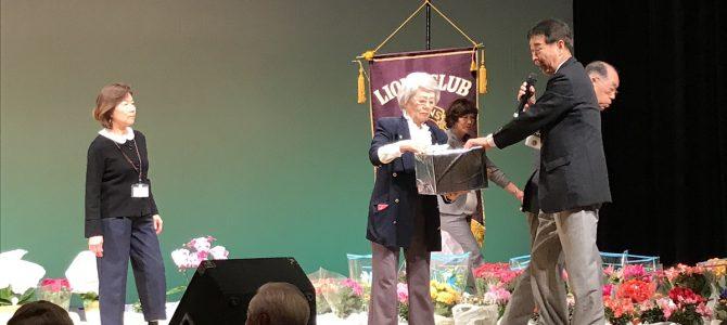 盛大だったチャリテイー歌謡祭 10月30日 東京清瀬LC