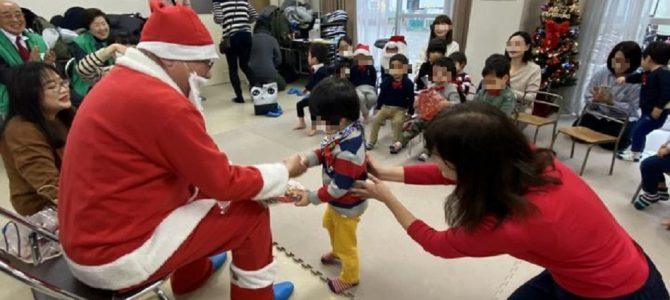 こぐま園クリスマス会を訪問 12月19日 東京番町LC